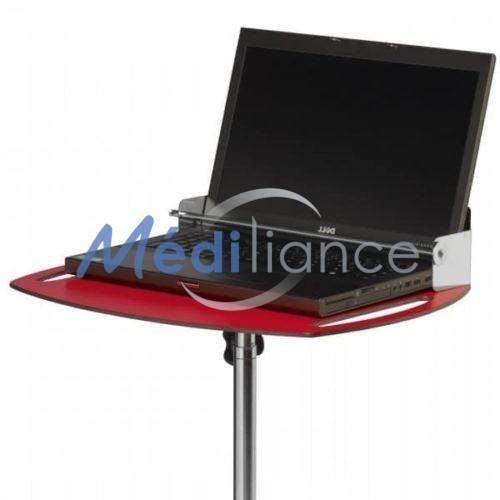 plateau avec ordinateur portable