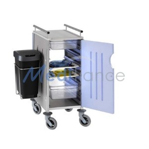 chariot simple port bleue
