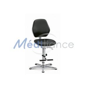 chaise salle blanche hauteur d'assise basse
