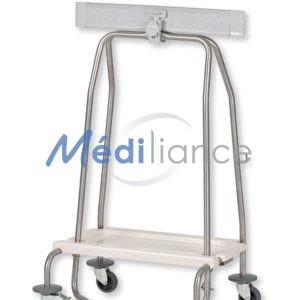 Chariot hermétique porte-sac