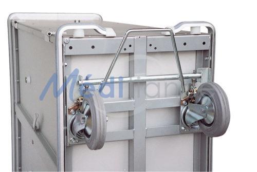 Option blocage directionnel pour chariot armoire