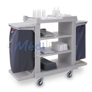 Chariot composite 2 supports sacs et sans portes