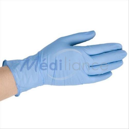 Gants en vinyle poudrés covid prévention corona virus